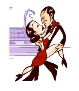 pareja tango